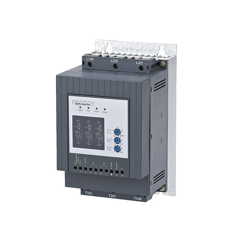 SSR integrated 380v/400v 3 phase soft starter