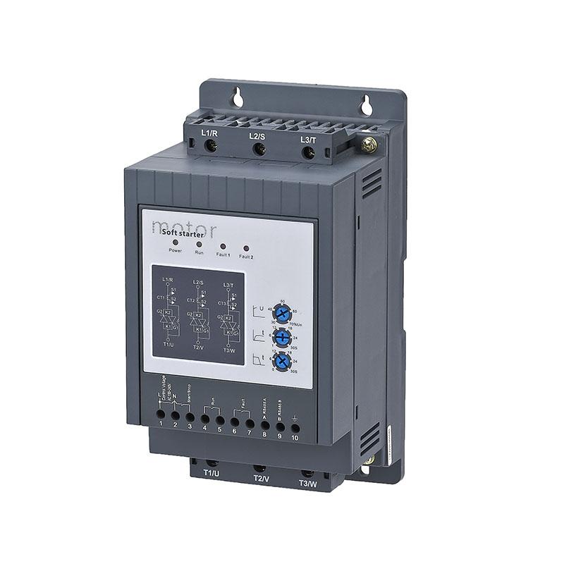 Three-phase control motor soft starter